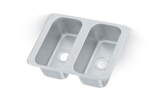 Vollrath 12065-2 Double Bowl Sink