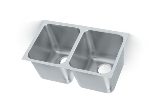 Vollrath 12122-1 Super Heavy Weight Double Bowl Sink