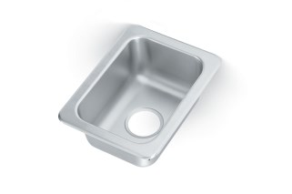 Vollrath 131-8 Flat Rim Single bowl sink