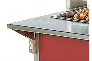 Vollrath NF38992 Plate Rest, 24""