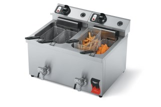 Vollrath 40710-C Cayenne 15 Lb Medium Duty Electric Fryer, US and Canada