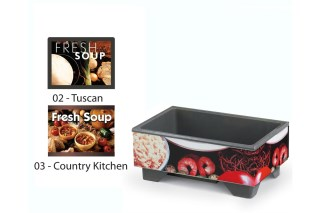 Vollrath 720200002 Full-Size Soup Merchandisers - Tuscan