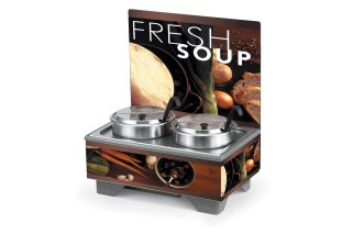 Vollrath 720202102 Full-Size Soup Merchandisers - Tuscan