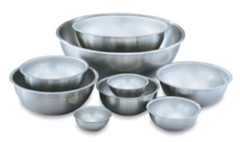 Vollrath 79800 Heavy-Duty Stainless Steel Mixing Bowls