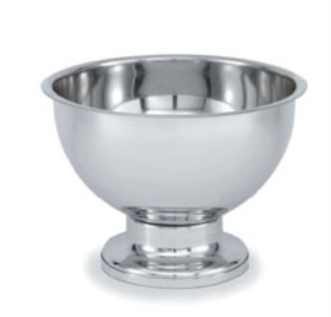 Vollrath 48772 New York, New York Punch Bowl, SIlverplate