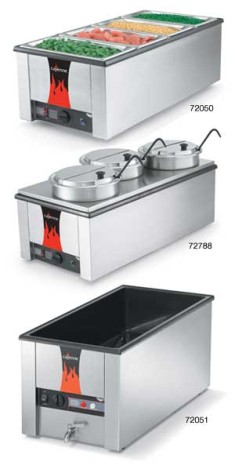 Vollrath 72055 Cayenne Model T43R Heat 'N Serve. 4/3 Rethermalizer