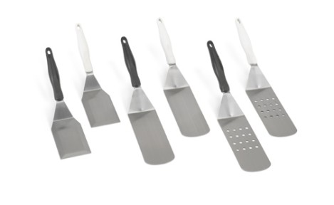 Vollrath 4808815 Stainless Steel Turners with Ergo Grip� Handles