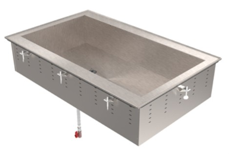 Vollrath 36654 Non-Refrigerated Short Side Cold Pans