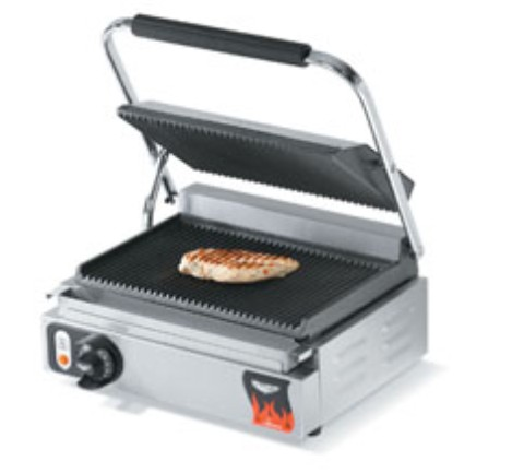 Vollrath 40794 Cayenne Cast Iron Plate Sandwich Presses, Panini Style