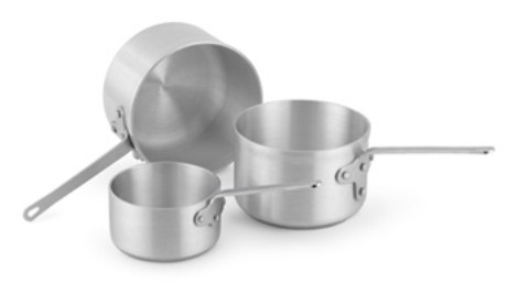 Vollrath 4109 Wear-Ever Classic Select  Sauce Pans with Traditional Handle