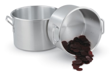 Vollrath 4334 Wear-Ever Rolled Edge Sauce Pots