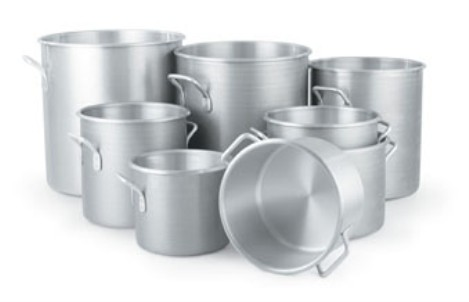Vollrath 4303 Wear-Ever Classic Rolled Edge Stock Pots
