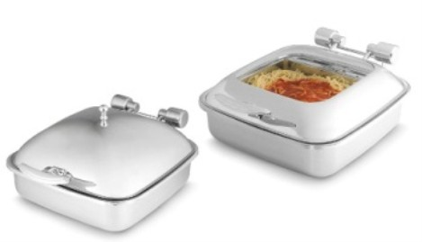 Vollrath 46133 Intrigue Square Induction Chafers